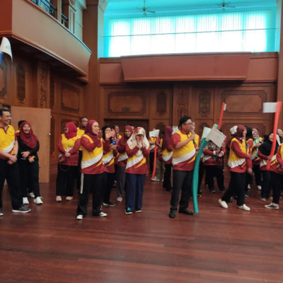First Team Building Activity for Petroleum Authority of Brunei Darussalam
